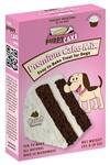 Treats:  Carob Cake Mix with Yogurt Frosting
