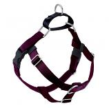 BURGUNDY (wine) Freedom No-Pull Harness with Black Back Loop