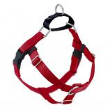 RED Freedom No-Pull Harness with Black Back Loop