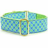 "Dog Collars:  Lucky Clover 1.5"" Wide"