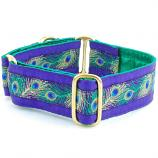 "Dog Collars:  Paradise Purple 1.5"" Wide"
