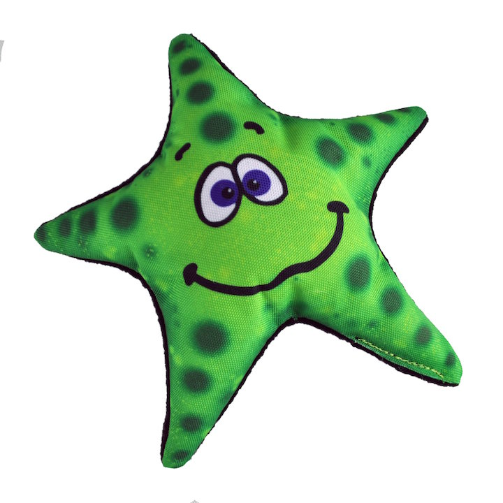 Dog Toy: Stanley Starfish Cordura Squeaker Dog Toy