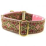"Dog Collars:  Highlands Pink 1.5"" Wide"