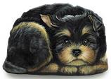Pupper Weight Yorkie: Soft Weighted Fabric Beanie