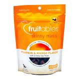 Treats:  Fruitables Chewy Skinny Mini Dog Treats Pumpkin Mango