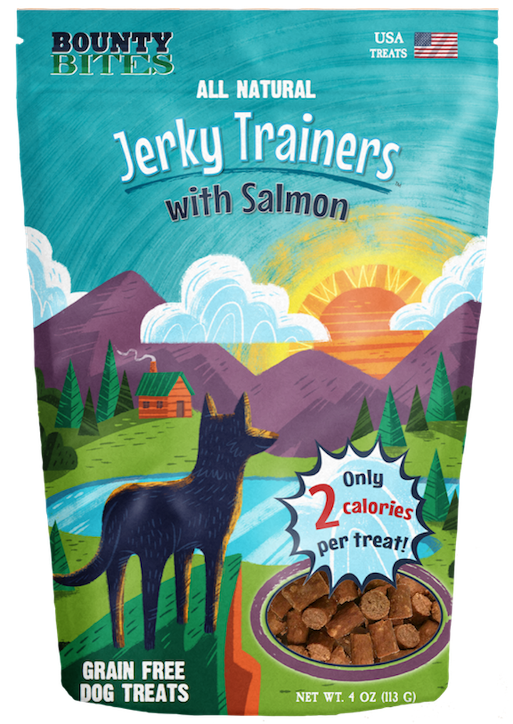 Treats: Jerky Trainers with Salmon