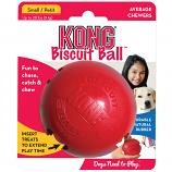 Dog Toy: Kong Biscuit Ball Available in Two Sizes