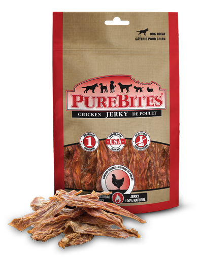 Chews: Purebites Chicken Jerky 5.5 oz