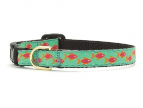 Up Country Cat Collar: Tropical Fish