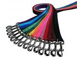 "Lead/Leash: 1"" Wide Traditional Nylon Webbing 6' or 4' Long"