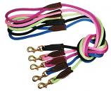 Lead/Leash: Rope Leash, 6' Lead for dogs 30lbs & larger