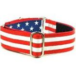 "Dog Collars:  USA Grand Old Flag 1.5"" Wide"
