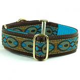 "Dog Collars:  Peacock 1.5"" Wide"