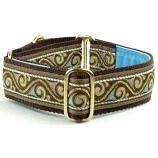 "Dog Collars:  Neapolitan 1.5"" Wide"