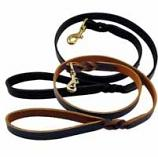 "Lead/Leash: Latigo Leather Twist, 6' or 4' Long, in 3/8"", 5/8"", 3/4"" or 1"" widths"